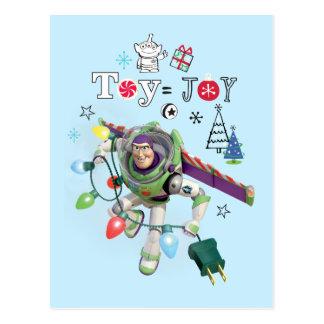Toy Story | Toy = Joy Postcard