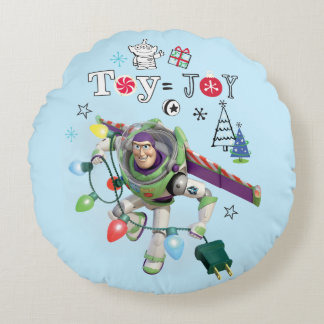 Toy Story | Toy = Joy Round Pillow