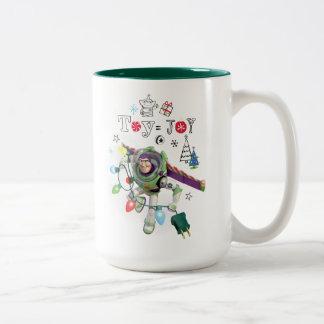 Toy Story | Toy = Joy Two-Tone Coffee Mug