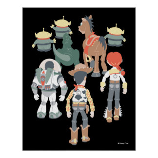 Toy Story | Toy Story Friends Turn 3 Poster