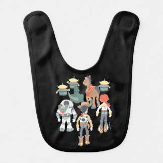 Toy Story | Toy Story Friends Turn 6 Baby Bibs
