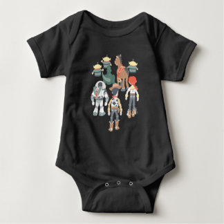 Toy Story | Toy Story Friends Turn 6 Baby Bodysuit
