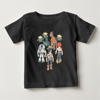 Toy Story | Toy Story Friends Turn 6 Baby T-Shirt