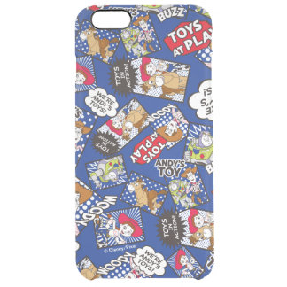 Toy Story | Toys at Play Comic Pattern Clear iPhone 6 Plus Case