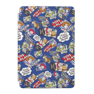 Toy Story | Toys at Play Comic Pattern iPad Mini Cover