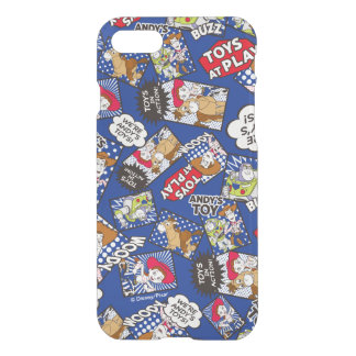 Toy Story   Toys at Play Comic Pattern iPhone 7 Case