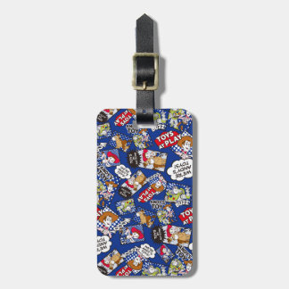 Toy Story | Toys at Play Comic Pattern Luggage Tag