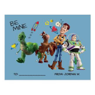 Toy Story | Valentine's Day Postcard