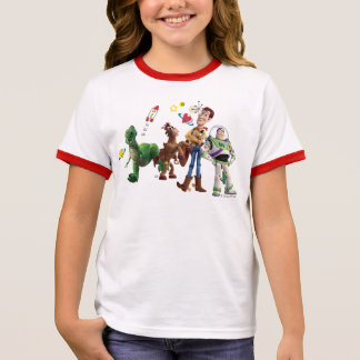 Toy Story | Valentine's Day Ringer T-Shirt