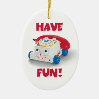 TOY TELEPHONE ornament