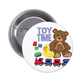 Toy Time 2 Inch Round Button