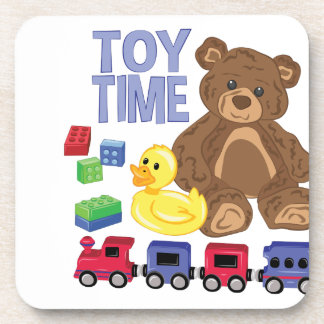 Toy Time Beverage Coasters