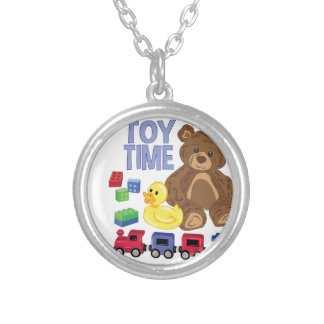 Toy Time Silver Plated Necklace
