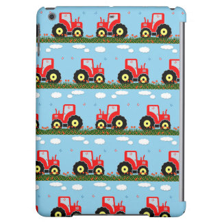 Toy tractor pattern cover for iPad air