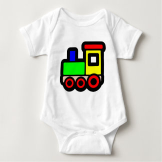 Toy Train Baby Bodysuit