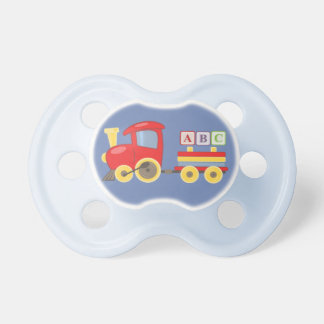 Toy Train Carrying ABC Alphabet Blocks Pacifier