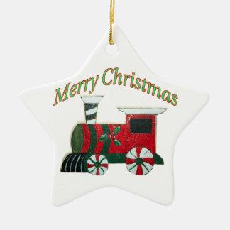 Toy Train Kid's Chrsitmas Ornament