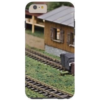 Toy Train Platform Tough iPhone 6 Plus Case