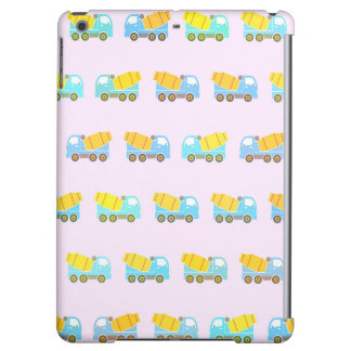 Toy truck pattern iPad air cases