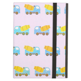 Toy truck pattern iPad air cover