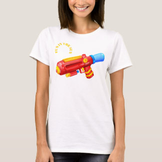 toy water gun fun in the sun summer tshirt