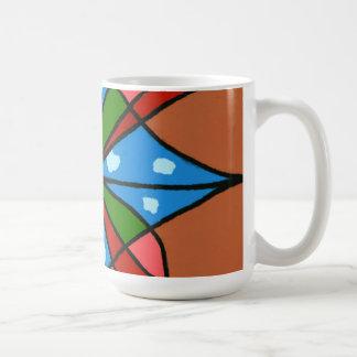 """Toy Windmill"" Abstract Design Mug"