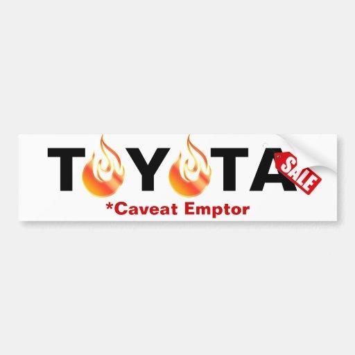 how to use caveat emptor