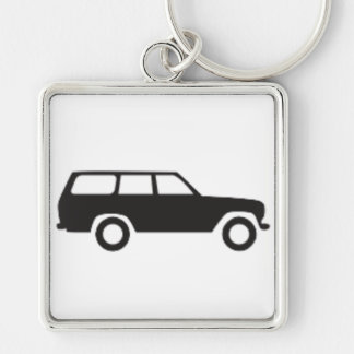 Toyota Land Cruiser 60 Series Icon Keychain