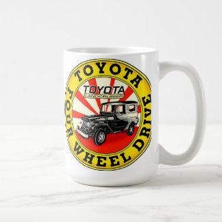 Toyota Land Cruiser sign Coffee Mug