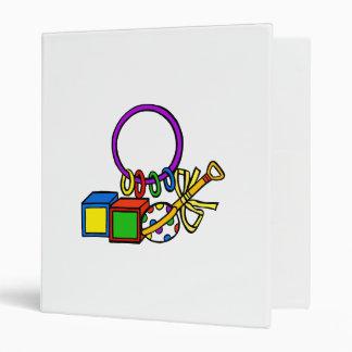 toys 3 ring binder
