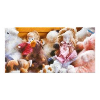 Toys - Childhood toys Photo Card