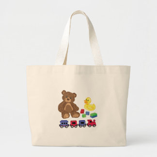 Toys Large Tote Bag