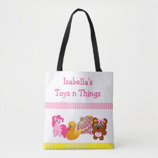 Toys 'n Things Tote Bag for Little Girl's Toys