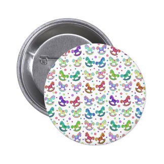 Toys pattern 2 inch round button
