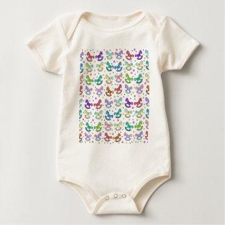 Toys pattern baby bodysuit