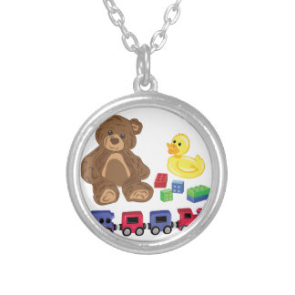 Toys Silver Plated Necklace