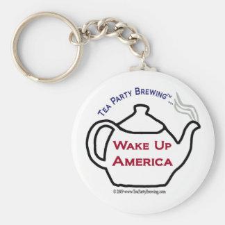 TP0101 Wake Up America Keychain