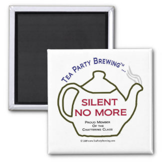 TP0106 Silent No More Proud Member Chattering Clas Magnet