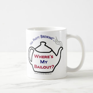 TP0114 Where's My Bailout Mug
