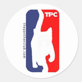 tpc classic round sticker