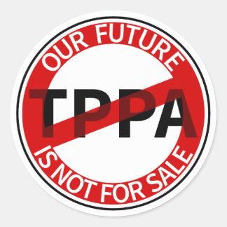 TPPA CLASSIC ROUND STICKER