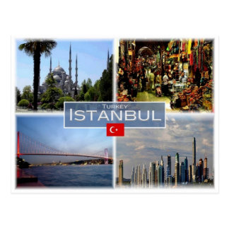 TR Turkey - Istanbul - Postcard
