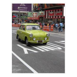 Trabant in Manhattan Postcard