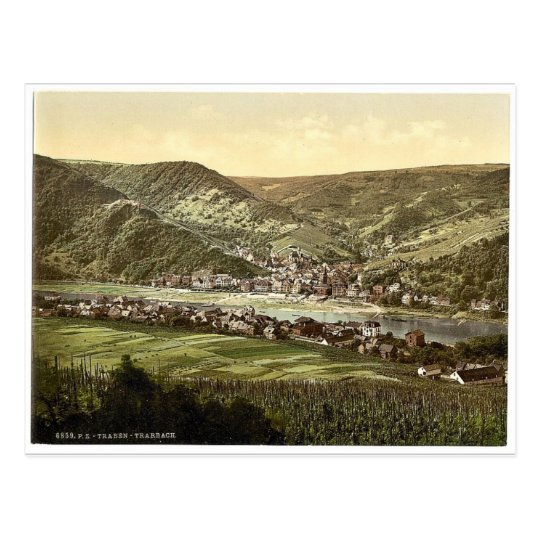 Traben Trarbach, Moselle, valley of, Germany rare Postcard