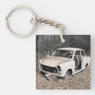 Trabi Single-Sided Square Acrylic Keychain