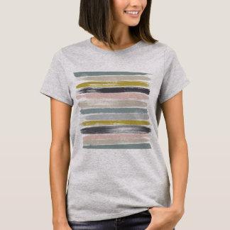Traçages et art moderne de la moitié du siècle de t-shirt