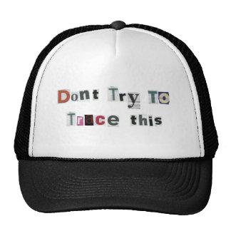 Trace Trucker Hat