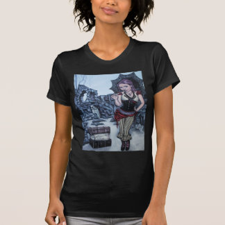 traces of my mistakes steampunk faery t shirt