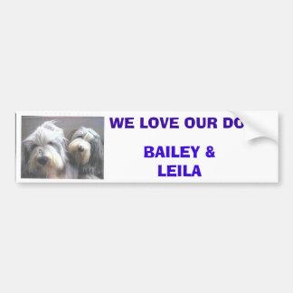 Tracey's Dogs Bumper Sticker