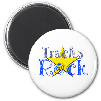 Trachs Rock Magnet